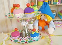 Bolinhas de Gude! (Ateliê Bonifrati) Tags: party cute craft cupcake festa tutorial pap docinho passoapasso bonifrati façavocêmesmo suporteparadocinhos