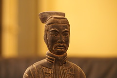 Le général de terre cuite (brunodeschamps78) Tags: china light face statue lumière olympus chine visage terrecuite général arméedeterrecuite mygearandme mygearandmepremium