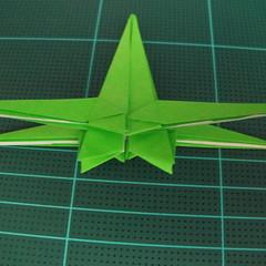 วิธีพับกระดาษเป็นจรวด X-WING สตาร์วอร์ (Origami X-WING) 036