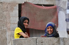 Production still from Yemeniettes in Sana'a, Yemen.