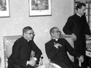 san Josemaría, Álvaro del Portillo y Javier Echevarría