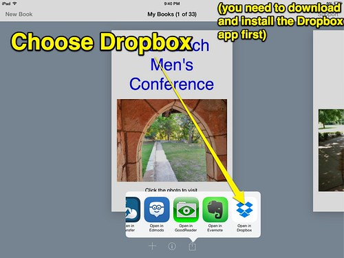 Post eBook to DropBox by Wesley Fryer, on Flickr