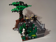 Outpost 50-1 (WG Productions) Tags: star lego clones scifi wars outpost moc