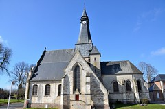 Mailly-Maillet (Somme) - Eglise Saint-Pierre (Morio60) Tags: 80 glise picardie somme saintpierre maillymaillet