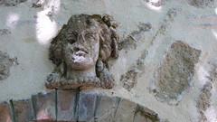 Mascaron - parc du Cypressat - Cenon