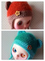Cashmere Bear Ear Hats