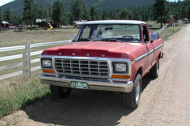 ford truck colorado 4x4 pickup f150 custom 1979 13390zd