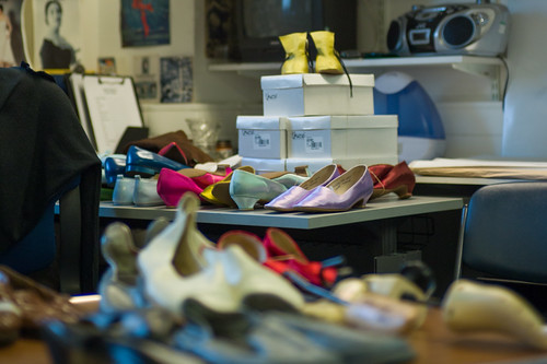 Preparing for 2014/15 Season: Inside The Royal Opera's Shoe Room