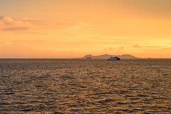 ,  (rylskov) Tags: sunset sea summer sky ferry thailand asia cloudy malaysia samui d800 donsak