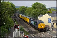 37604 | Pencoed | 19/06/14 (Lewis Mitchell Railways) Tags: test tractor wales train radio br rail class british network 37 survey services direct bridgend syphon adj drs pencoed 37604 landore 1q13