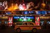 Night taxi - Kolkata, India (Maciej Dakowicz) Tags: city india cinema motion blur car night taxi kolkata calcutta