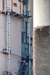 DSC_0535 (Rustam Bikbov) Tags: bridge june destruction oldandnew 2014 yekaterinburg         chelyuskinitesst