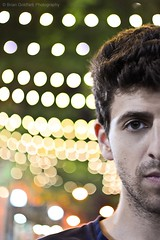 170/365 June 19 (BrianGoPhoto) Tags: selfportrait face brooklyn photography lights bokeh 365 downtownbrooklyn project365 365project