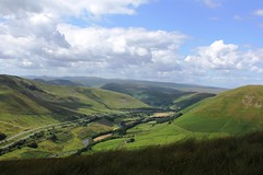 A lovely Sunlight 'Lune Gorge' in Cumbria viewed from the top of Linghaw in the Howgill Fells on 5th July 2014  (steamdriver12) Tags: from light sun lune july cumbria fells summit gorge lovely 2014 howgill linghaw