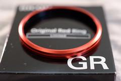 Ricoh GR Original Red Ring Limited (tsaiid) Tags: ring gr ricoh redring