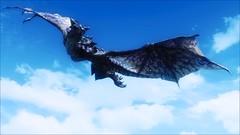 Grim Winter Redux - Ill Tidings 14 (Kyerea) Tags: lighting flying dragon pics flight scenic dragons screenshots gaming fantasy rpg screencap tes modding dov mods enb theelderscrolls dovah tesv theelderscrollsvskyrim screenarchery grimwinterenb grimwinterredux
