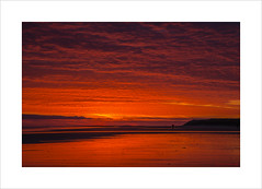 Is there life on Mars? (Explore 16/11/16 #85) (andyrousephotography) Tags: bamburgh beach sunrise red mars davidbowie icon pop lifeonmars istherelifeonmars