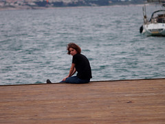 (lucepnx) Tags: friends photoshoot love colorful sea seaside slovenia portoro boat
