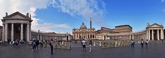 Vatican City (Great!) Tags: italy italië rome vaticaan statodellacittàdelvaticano sintpietersbasiliek stpetersbasilica apostolischpaleis apostolicpalace panorama unesco paus pope