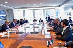 (H.H. Sheikh Abdullah bin Zayed Al Nahyan) Tags: abduallabinzayed gcc mofa mofaaic uae uaefm un unga2016 yemenquad johnkerry