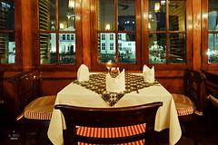 Window tables (A. Wee) Tags: cafebatavia cafe jakarta  indonesia  kotatua taman fatahillah  plaza square