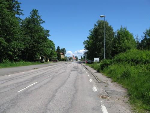 Järnvägsgatan, Mölltorp 2010