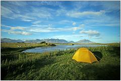 Iceland (rogilde - roberto la forgia) Tags: camping campeggio belvedere islanda iceland