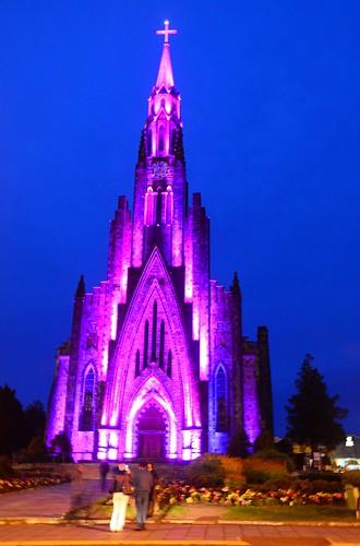 DSC_4517 - Igreja Matriz de Nossa Senhora de Lourdes - Canela / RS