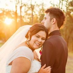 Sky and Josh (Liz van der Hout) Tags: brisbaneweddingphotographer weddingphotography wedding goldenlight sunset groom bride brisbanewedding brisbane