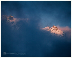 0283 mount aspiring. (koaflashboy) Tags: honeymoon newzealand newzealandmoon mountaspiringnationalpark southisland alpenglow clouds quote
