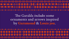 Garalda (TypeTogether) Tags: garalda xavierdupré garamond wwwtypetogethercom serif typetogether typeface newrelease 50discount offer