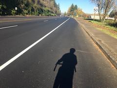 New striping on Highway 30-7.jpg (BikePortland.org) Tags: bikelanes dirty30 highway30