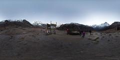 Annapurna Base Camp 360, Annapurna Sanctuary @ Nepal (Sitoo) Tags: vr 360degree 360photography 360x180 abc amanecer annapurna annapurnabasecamp annapurnasouth campobaseannapurna equirectangular fisheye himalaya hugin machapuchare mountains nepal panorama sanctuaty sigma15mmf28 sunrise trek trekking