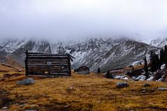 Mayflower Gulch ( r e e s e ) Tags: breckenridge mountains mines cloudy fog mist mountaineering