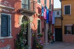 Italian home (Ralph Rozema) Tags: italy ralphrozemaphotography venice itailan home burano colorful island flowers