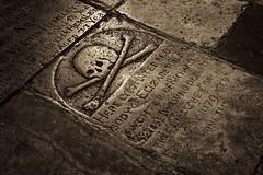 History Underfoot (95wombat) Tags: church floor grave london bw monochrome platinumtoned