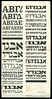 Letraset Limited '64 October Extensions (philipp75) Tags: letraset 1964 hebrew