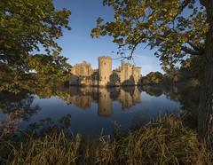 Bodiam at Dawn (www.forgottenheritage.co.uk) Tags: ue explore castle heritage historic history lake moat still reflection medieval national trust