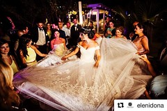 """Repost a superior photo from an unforgettable #reception party. Moment captured by the super talented #photographer @elenidona #Wedding planning by """"Wedding in Greece"""" www.weddingingreece.com"""