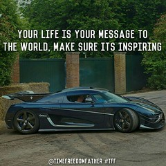 Your life is your story to the world, make sure its inspiring!  @timefreedomfather #TFF (donnycarpenter1) Tags: tff motivate workfromhome motivation entrepreneur entrepreneurs business inspire leadership happy successful amazing entrepreneurship healthy networkmarketing goals success inspiration motivational motivated grind millionaire boss strong work luxury dedication inspirational positive justdoit