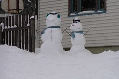 St. John's, Long's Hill, Snowmen (Joseph Topping) Tags: newfoundland canada winter