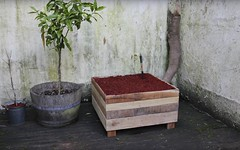 Diy: How to Make a Pallet Wood Planter Box (irecyclart) Tags: diy garden planter recycledpallet tutorial video