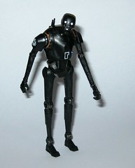 k-2so star wars rogue one basic action figures 2016 hasbro g (tjparkside) Tags: k2so star wars rogue one basic action figures 2016 hasbro mosc 1 r1 375 inch 5poa figure disney studio effects ap app rebel rebels alliance base insertion agent droid droids zipline k 2so