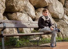 Sentarse a descansar. 151/365. (anajvan) Tags: bench banco relax tranquilo nio otoo