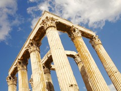 The Temple of Olympian Zeus (SaZo1234) Tags: greece athens ancientgreece ruins templeofolympianzeus archeology monument