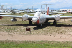 Martin B-57 Canberra Bomber (Arthur Chapman) Tags: martinb57canberra b57 b57canberra canberrabomber amarg aerospacemaintenanceandregenertiongroup tucson arizona usa unitedstatesofamerica boneyard geocode:accuracy=1000meters geocode:method=gps geo:country=unitedstatesofamerica