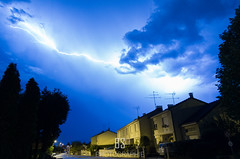 The Rift (BS_Photographie) Tags: 2015 bleu blue chance chasse chteauroux ciel city cityscape clouds flashes france landscape lightning luck night nuages nuit paysage pentax sky storm summer tempte thunderstorm ville chaser chasing clair t centre