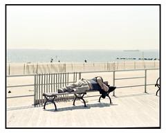 Brighton Beach NYC (D. McNamara Jr.) Tags: pentax67ii 200mmf4 mediumformat film kodak portra160 homedeveloped mediumformatfilm 6x7 brooklyn nyc boardwalk coneyisland