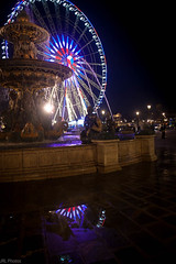 concorde (jrl_photos) Tags: lumire bassin light eau nuit roue