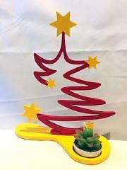 Albero stilizzato con candela (marcotas) Tags: albero natale candela stelle marcotas legno tree christmas candle stars scrollsaw handmade homemade decor regalo gift giftidea